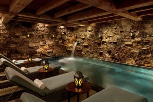 a relaxing spa in a colorado hotel