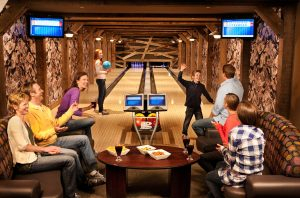 Awesome Bowling Alley in Colorado Hotel
